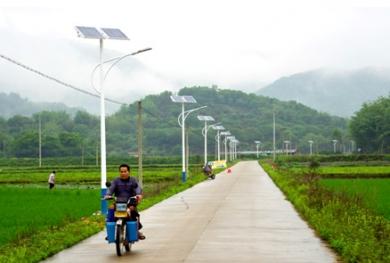 甘肃新农村太阳能路灯