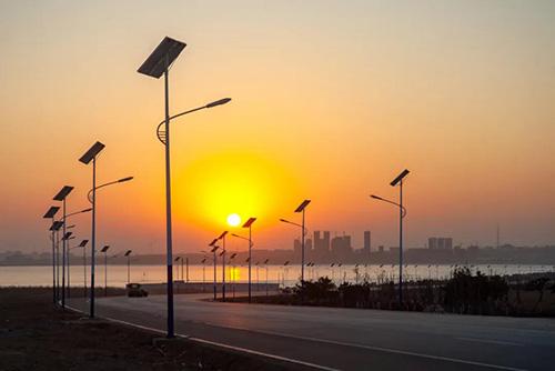 新农村太阳能路灯
